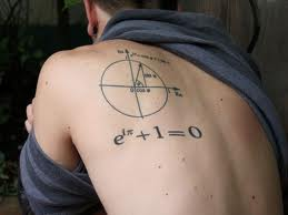 tatuaje formula euler