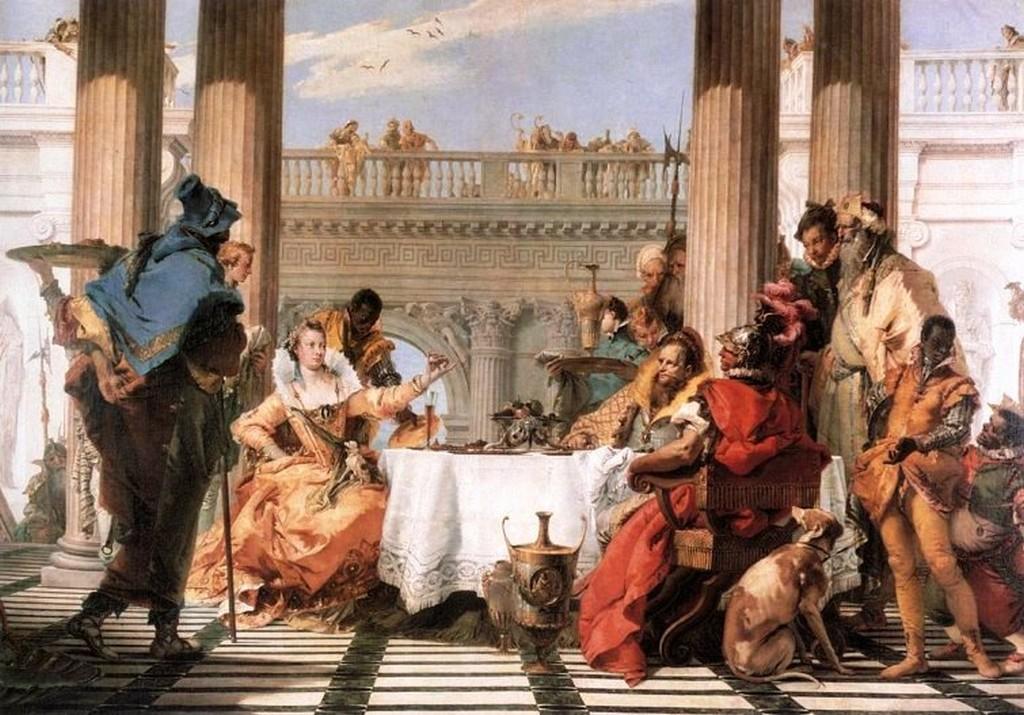 CLEOPATRA y su copa de vino
