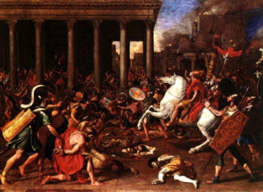 Jerusalén azotada por Roma