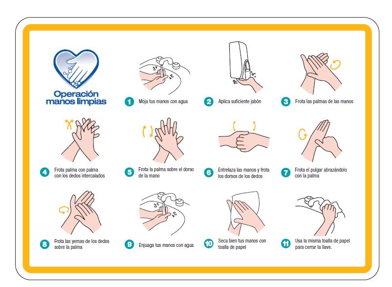 Protocolo lavado de manos
