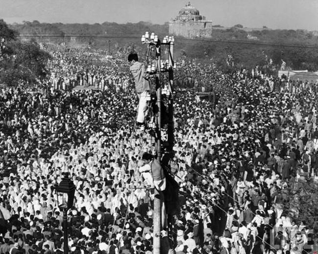 funeral de Gandhi