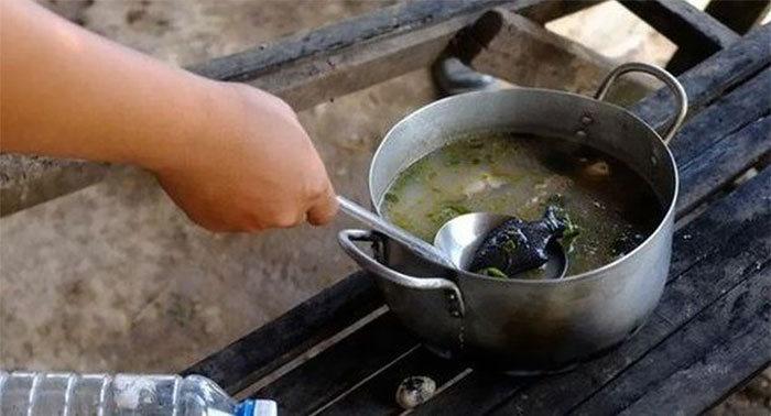 sopa de hierro