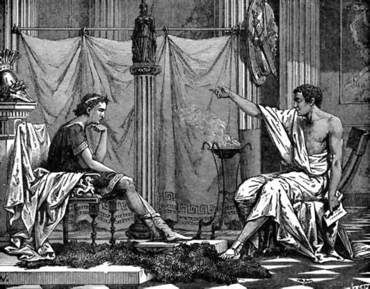 alejandro magno y aristóteles
