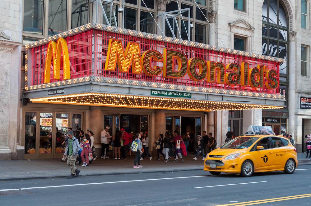 McDonalds @ Times Square
