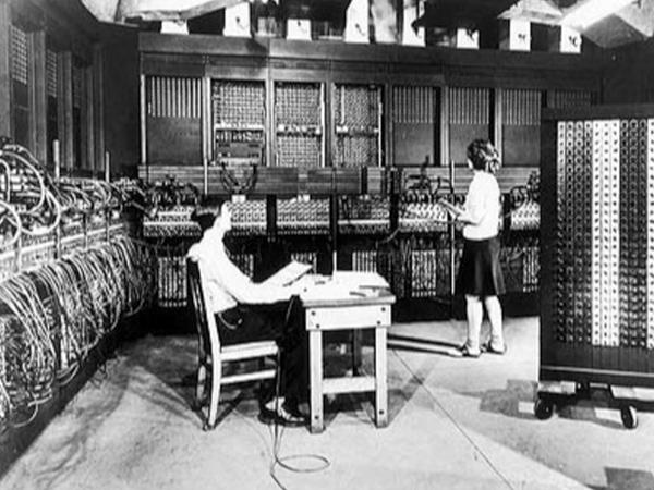 La primera computadora: ENIAC