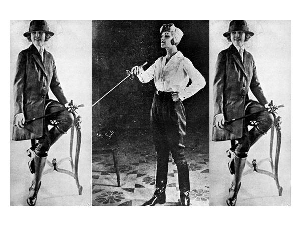 Para Pantalones, los de las mujeres