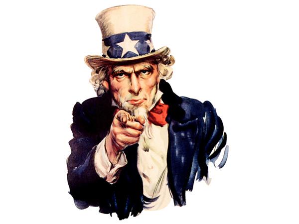 I Want You: el viejo Uncle Sam