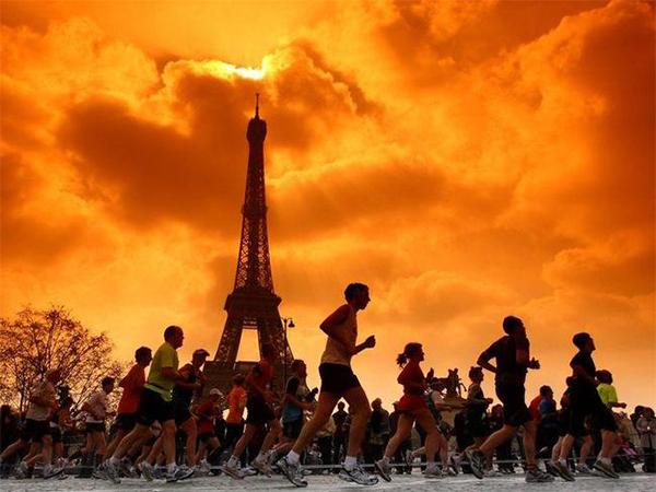 Maratones que encienden luces