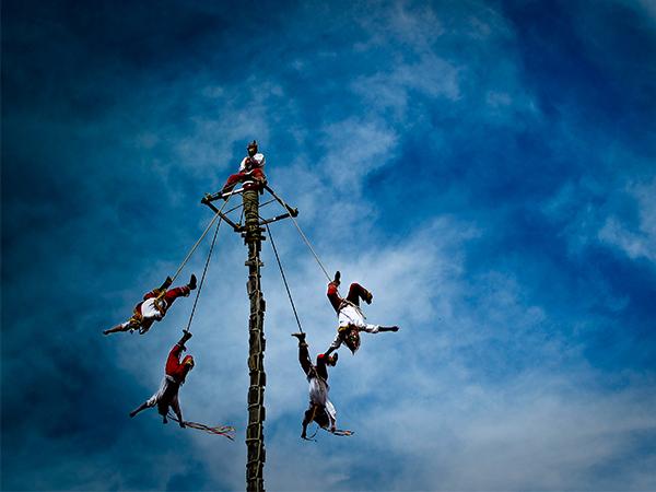 Voladores de Papantla, una tradición mágica