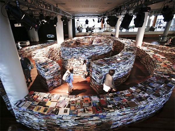 Una metáfora hecha realidad: laberinto de libros