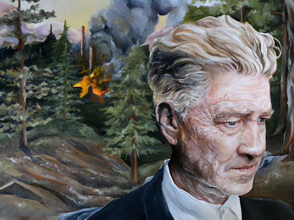 El cineasta surrealista David Lynch