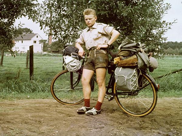 Heinz Stücke, el hombre de la bicicleta