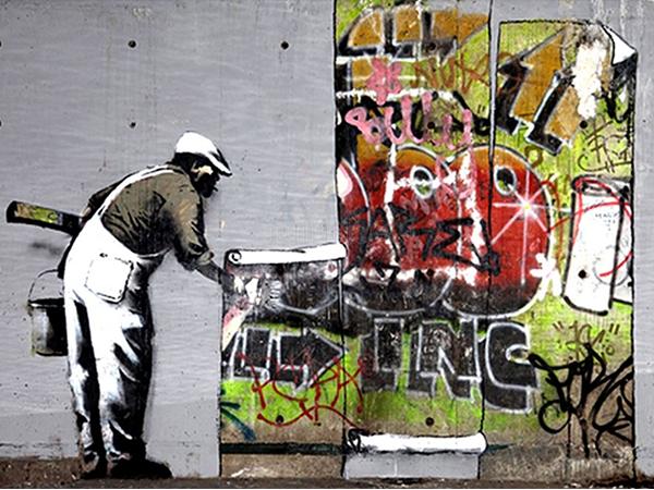 El grafiti vs. el arte callejero