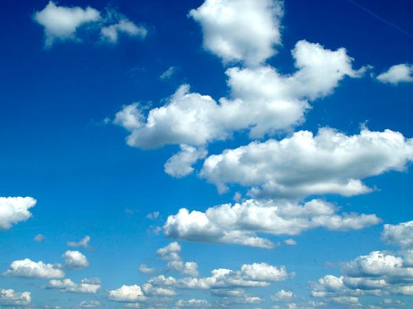 ¿Cuánto pesa una nube?