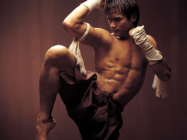 La lucha marcial Muay Thai