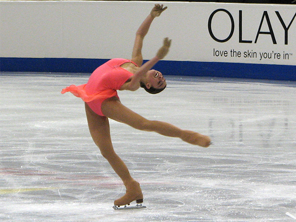¿Por qué no se marean los patinadores en hielo?