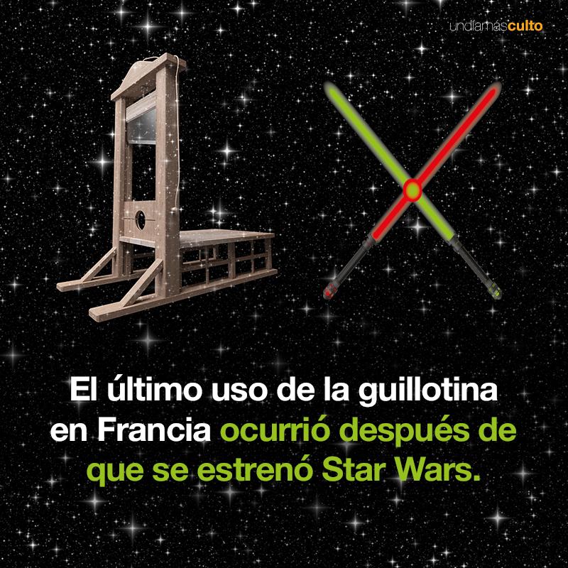 Último uso de la guillotina