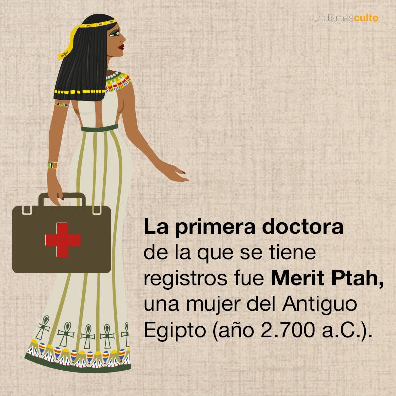 La primera doctora de la historia