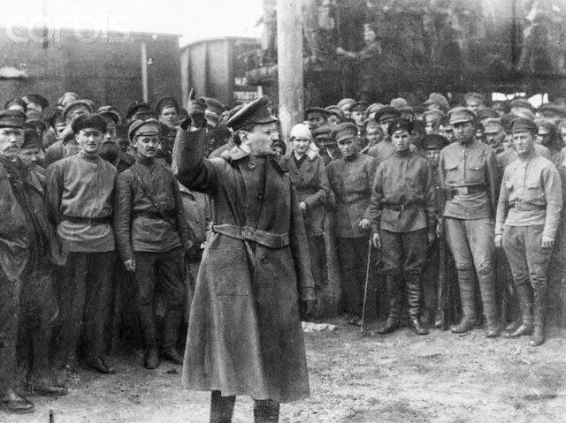 León Trotsky, el revolucionario clandestino