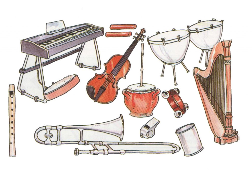 La historia de la música (en breve)
