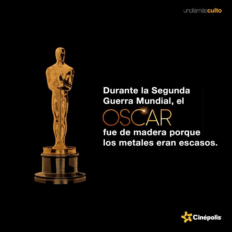 Oscar de madera