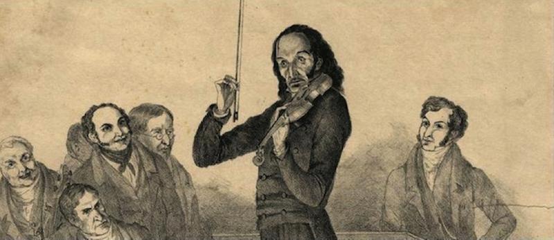 Diabólica seducción de Niccolò Paganini