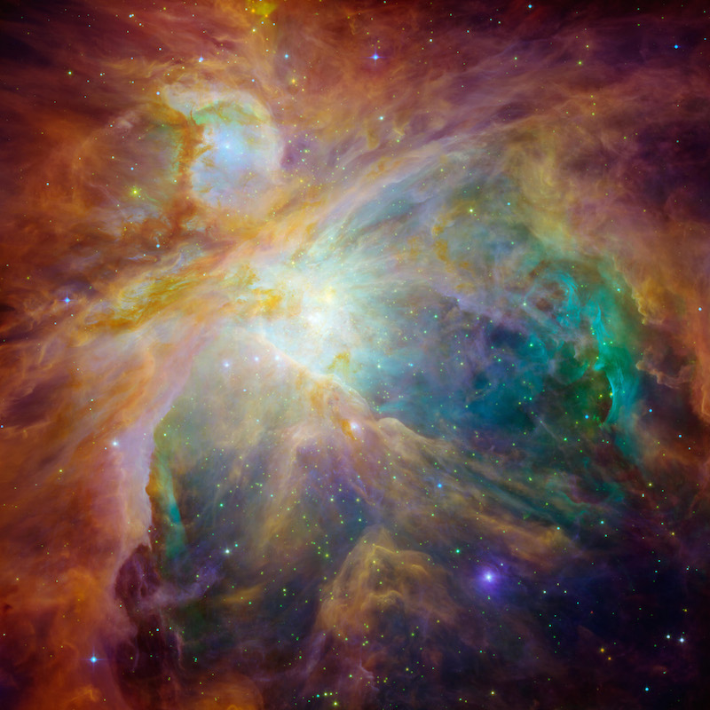 ¡Viaja a la nebulosa de Orión!