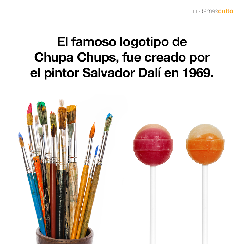 Chupa Chups – Salvador Dalí