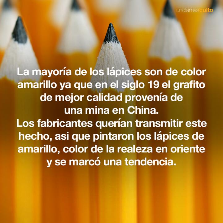 Lápices amarillos