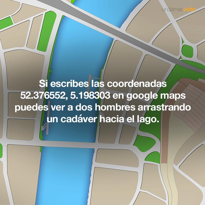 Coordenadas en google