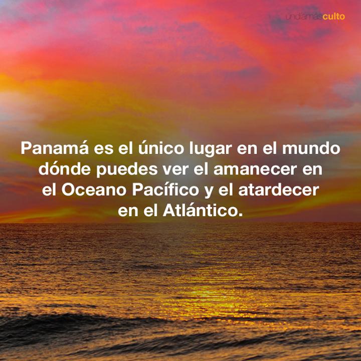 Panamá y oceanos
