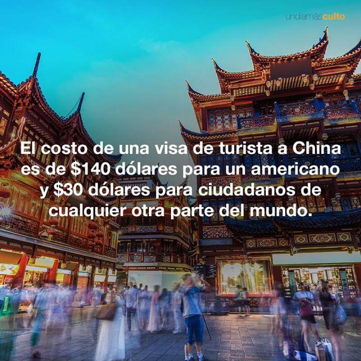 Visa de turista en China