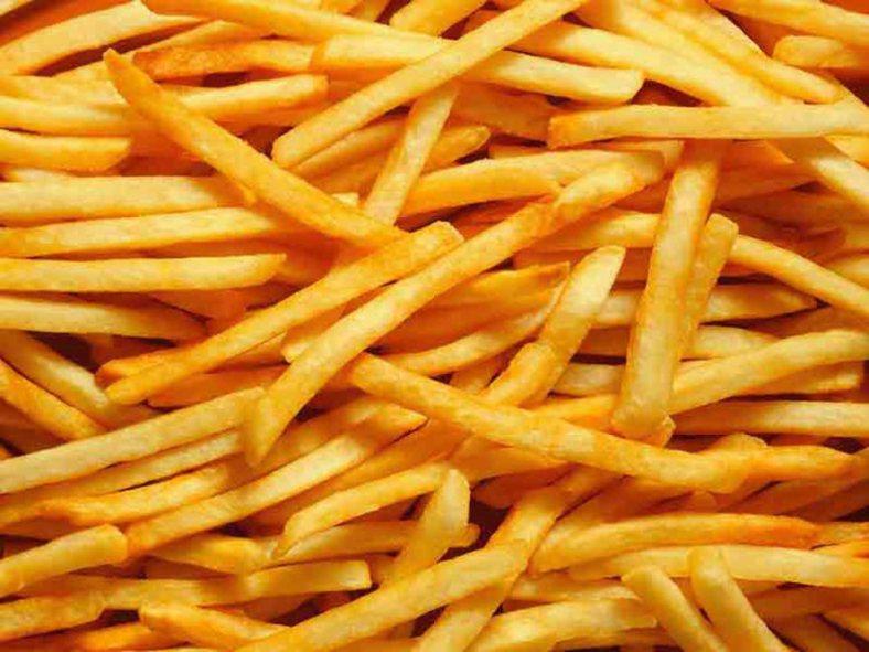 Nace una estrella, la comida rápida