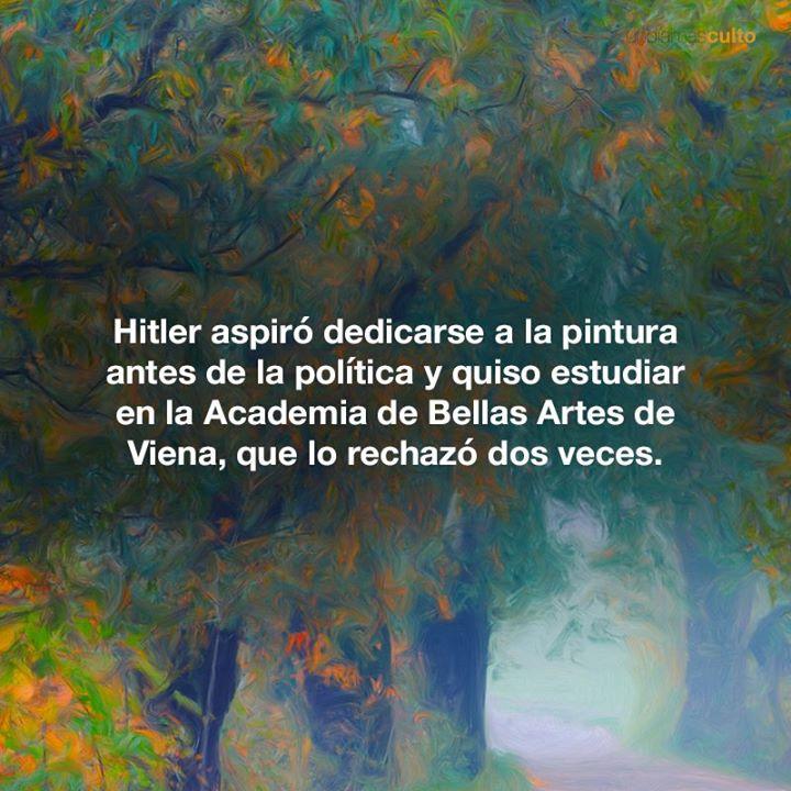 Hitler y la pintura