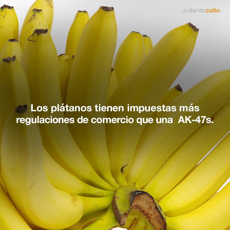 Regulaciones de comercio de los plátanos