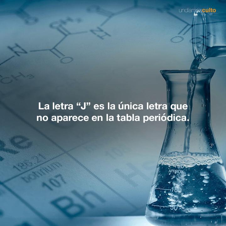 """Letra """"J"""" en la tabla periódica"""