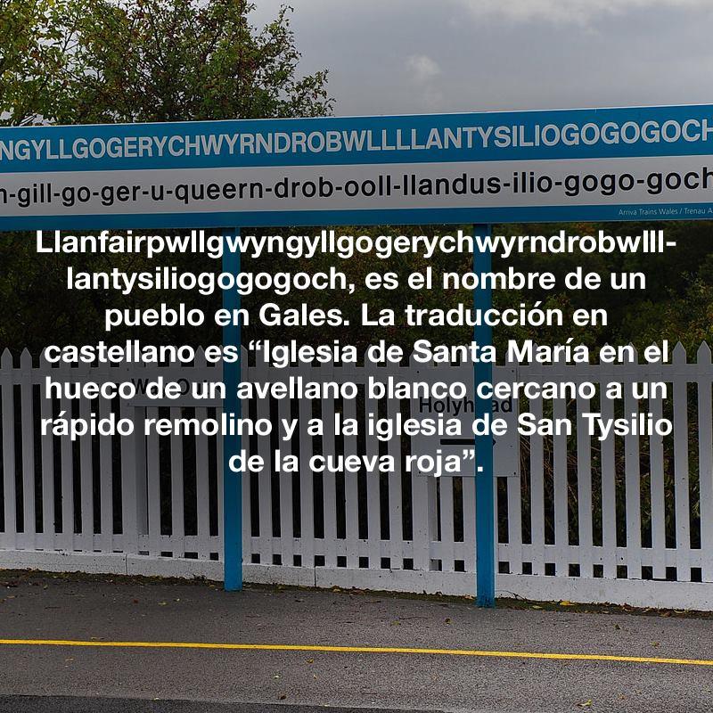Pueblo en Gales