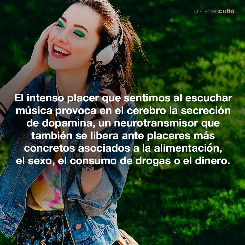 Placer al escuchar música