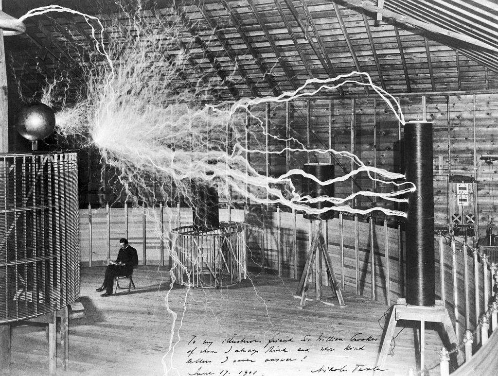 Tesla y su máquina de terremotos