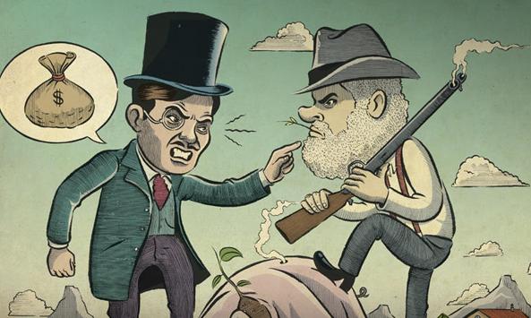 La infame guerra del cerdo