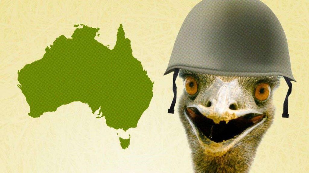 Australia vs Los Emús