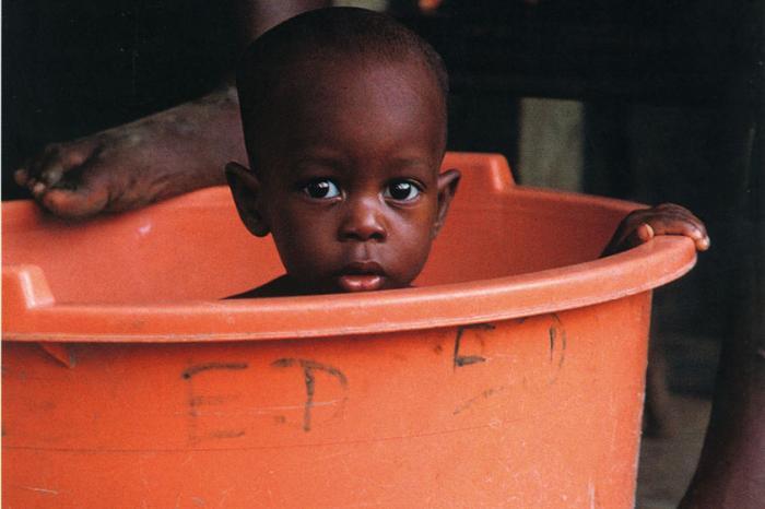 El nombre de los bebés africanos