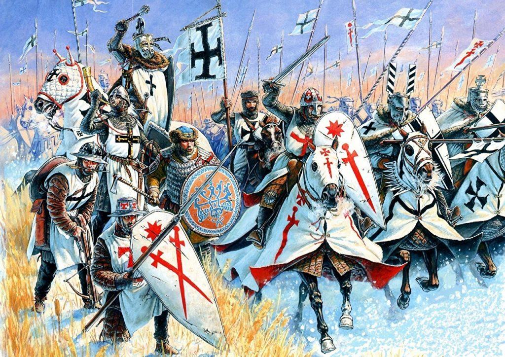 ¿Cómo eran las batallas en la Edad Media?