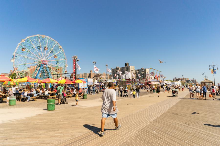Coney Island: sol, mar y diversión