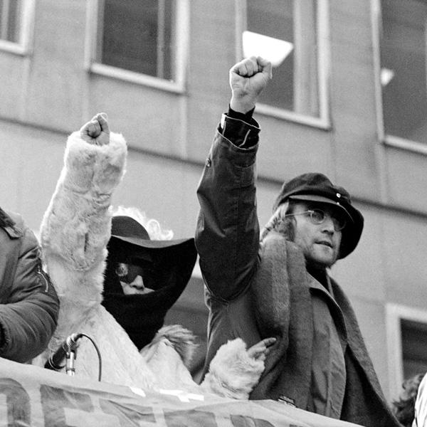 THE U.S. VS. JOHN LENNON, Yoko Ono, John Lennon, 2006.©Lions Gate/courtesy Everett Collection