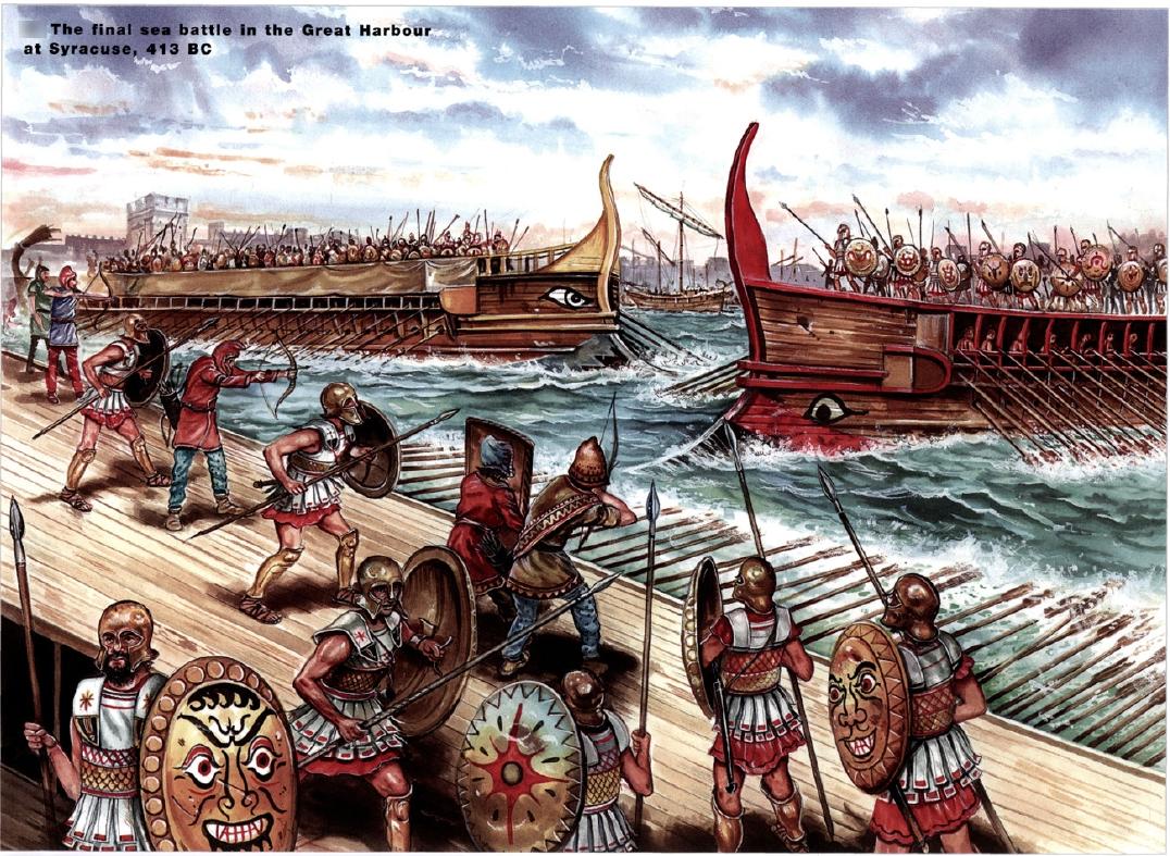 the-peloponnesian-war-syracuse-naval-battle