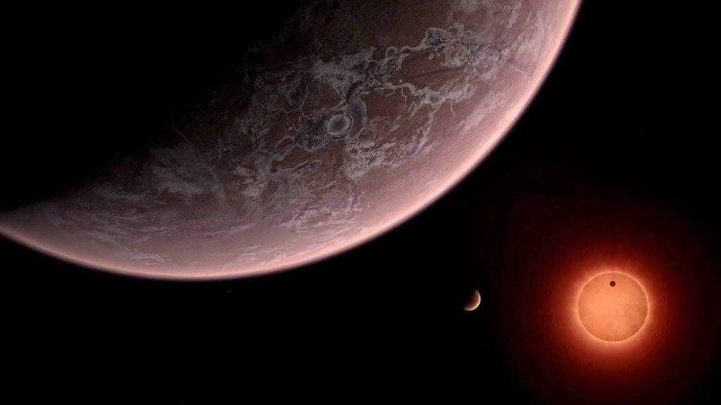 Encuentran Planeta con cielos de Titanio