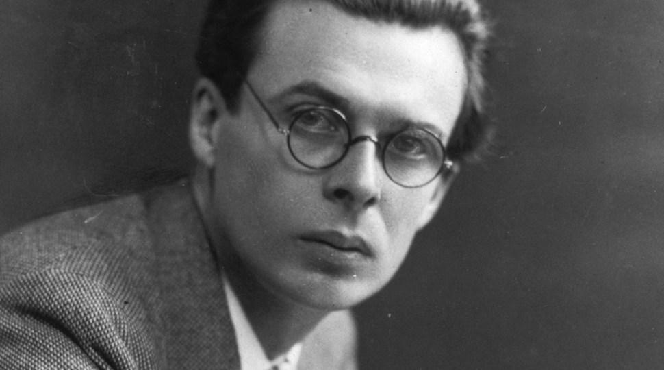 Una importante lección de vida de Aldous Huxley que deberías escuchar