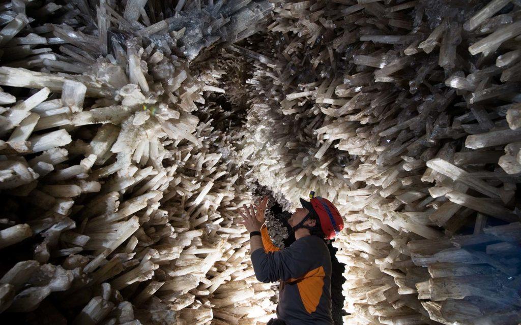 La cueva de los cristales
