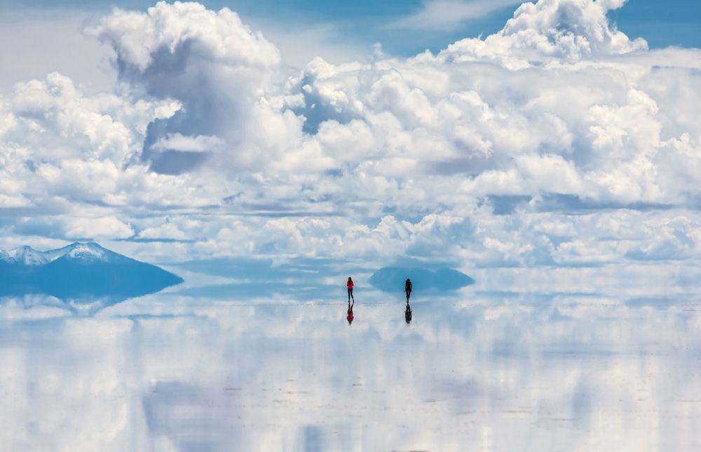 Así luce el increíble Salar de Uyuni en Bolivia